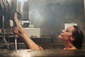 Lady Removing Hair By Herself   Bodycraft
