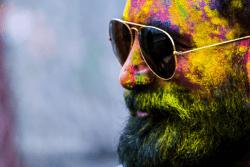 Men'S Beard In Holi   Bodycraft